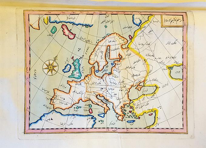 Europakartan ur boken