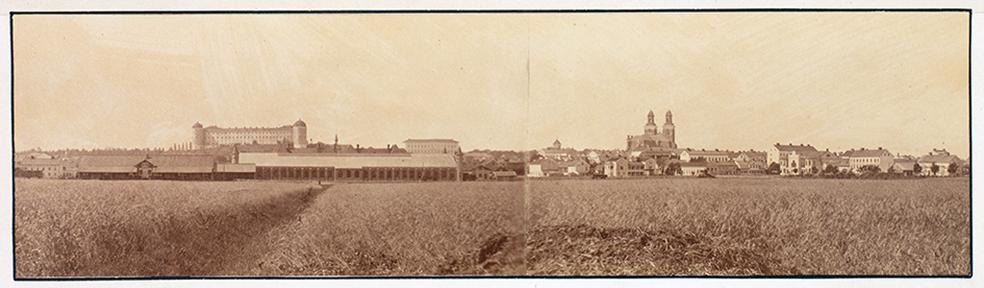 foto över Uppsala från öster