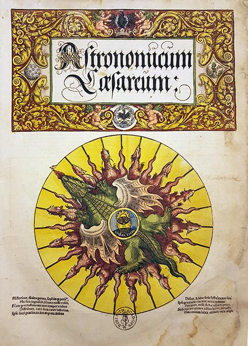titelbladet till astronomicum caesareum