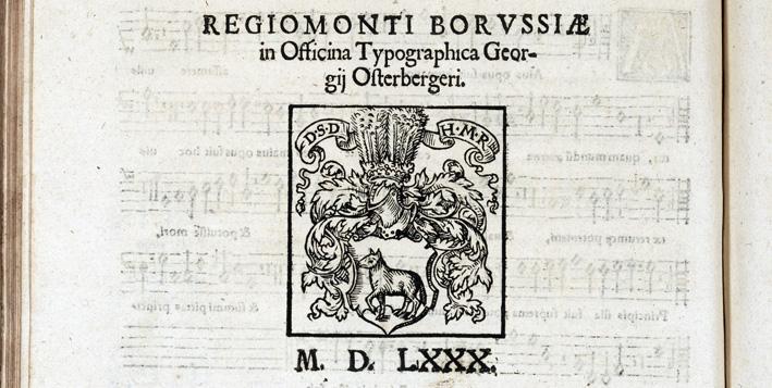 boktryckarmärke för tryckaren Georg Osterberger