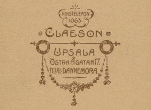 Ellen Claesons logotyp