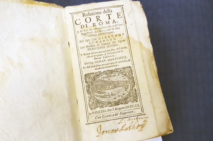 titelbladet till det första verket i volymen