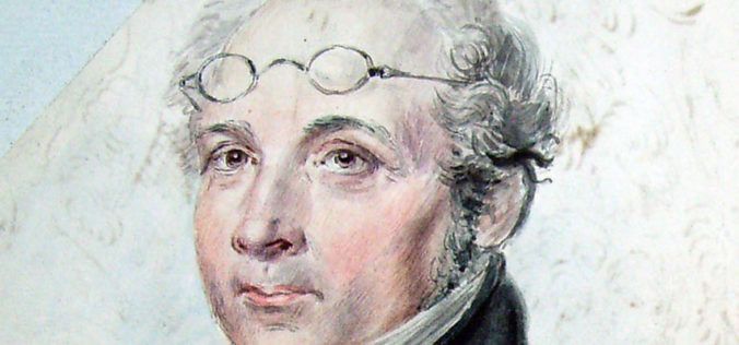 detalj från porträttet, närbild på ansiktet och glasögon i pannan