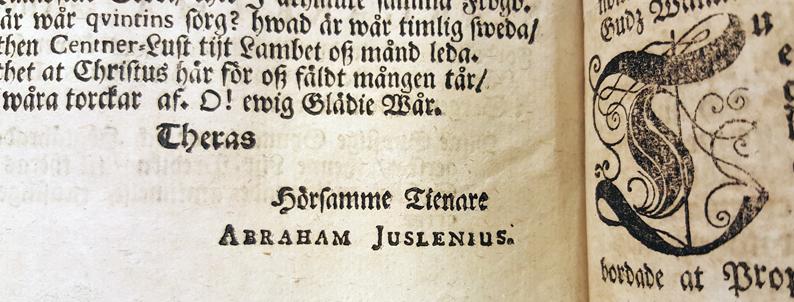 Abraham Juslenius namn