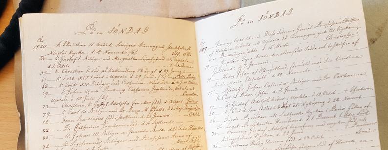 ett uppslag ur handskriften