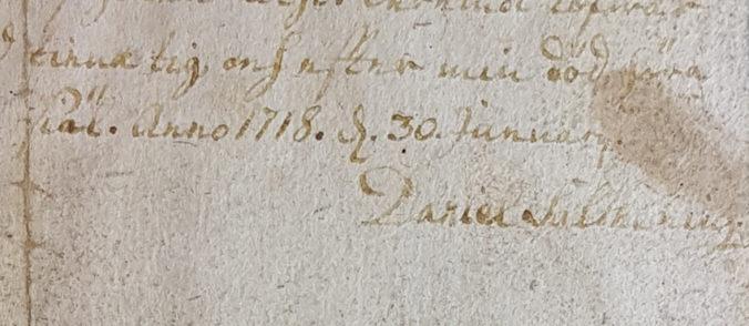 närbild på salthenius underskritt på avtalet som citeras nedan