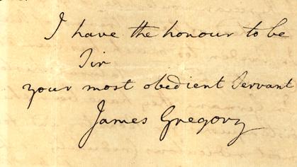 gregorys namnteckning