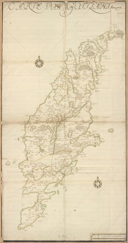 hel karta över gotland