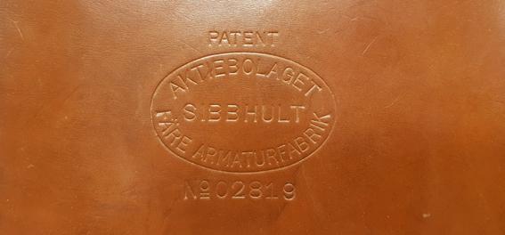 filmamärket på väskan